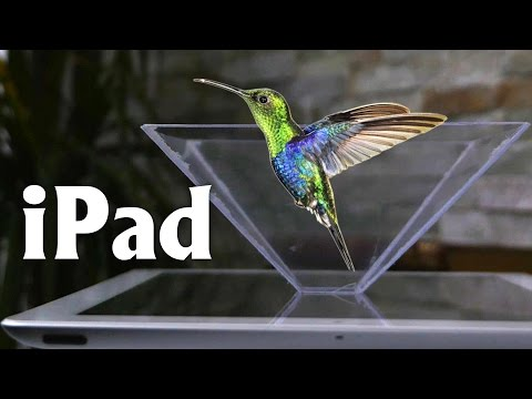 Smartphone 3D Hologram Projector - Turn Your Smartphone Into A 3D Hologram
