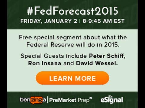 CNBC Contributors Peter Schiff & Ron Insana - #FedForecast2015 on #PreMarket Prep