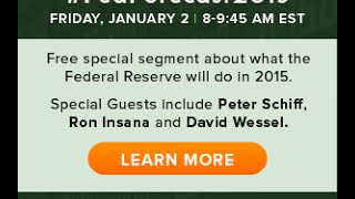 CNBC Contributors Peter Schiff & Ron Insana - #FedForecast2015 on #PreMarket Prep thumbnail