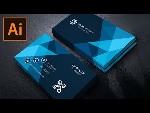 How To Create Business Card In Illustrator CC