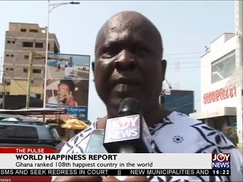 World Happiness Report - The Pulse on JoyNews (16-3-18)