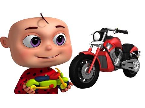 Five Little Babies Making Toy Vehicles | Nursery Rhymes & Kids Songs | Zool Babies