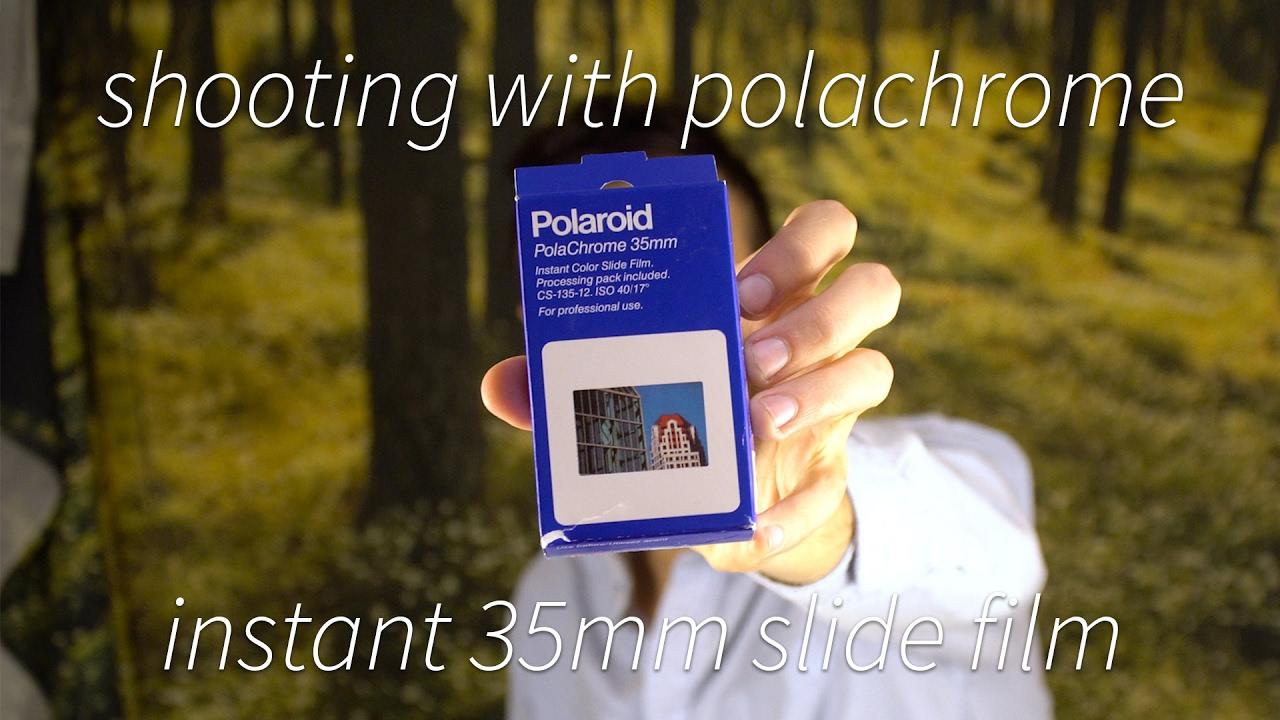 shooting instant 35mm film polaroid polachrome youtube