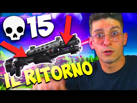 IL RITORNO DEL POMPA DEFINITIVO SU FORTNITE !! SONO UNSTOPPABLE !!