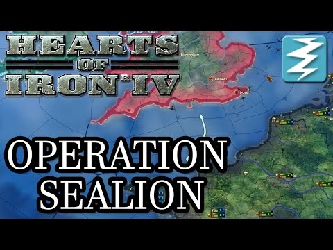 Invade the United Kingdom! Operation Sea Lion Tutorial - Hearts of Iron IV HOI4 Paradox Interactive