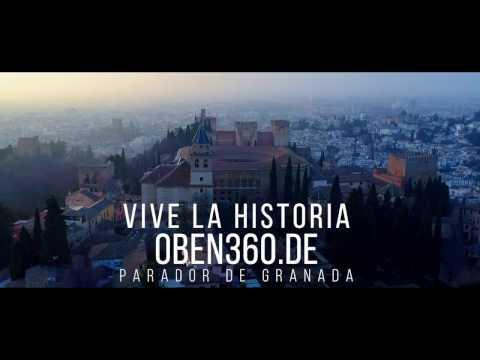 Parador de Granada  Alhambra from the sky San Francisco