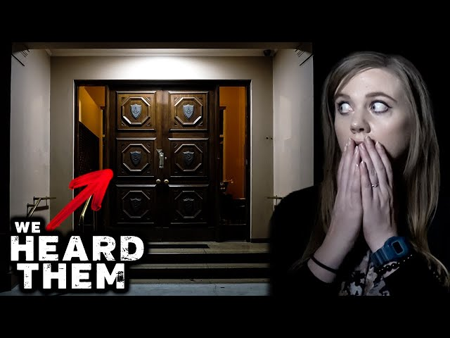 STRANGE Noises Caught in HAUNTED MANSION at Night! | Paranormal Investigation
