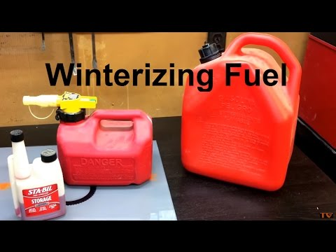 Adding Sta-Bil Fuel Stabilizer To Ethanol Free Gas