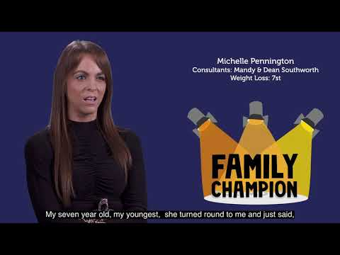 The 1:1 Diet Family Champion Award | Shortlist – Michelle Pennington thumbnail