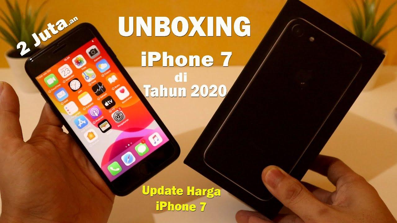 Layar iphone 8 plus lebih besar dari iphone 8 yaitu 4,7 inci vs 5,5 inci. Unboxing iPhone 7 di Tahun 2020   Harga 2Juta ?? Udah Murah ?? - YouTube