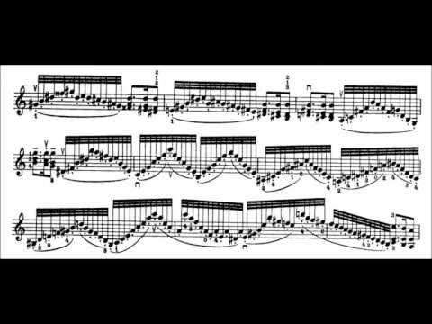 Niccolò Paganini - Caprice for Solo Violin, Op. 1 No. 7 (Sheet Music)