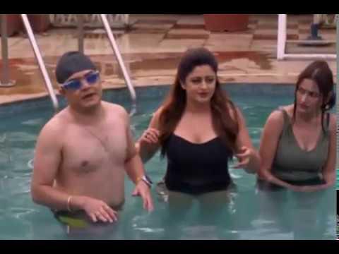 Neha Pendse and Sapna Sikarwar Hot in Swimsuit 9 thumbnail