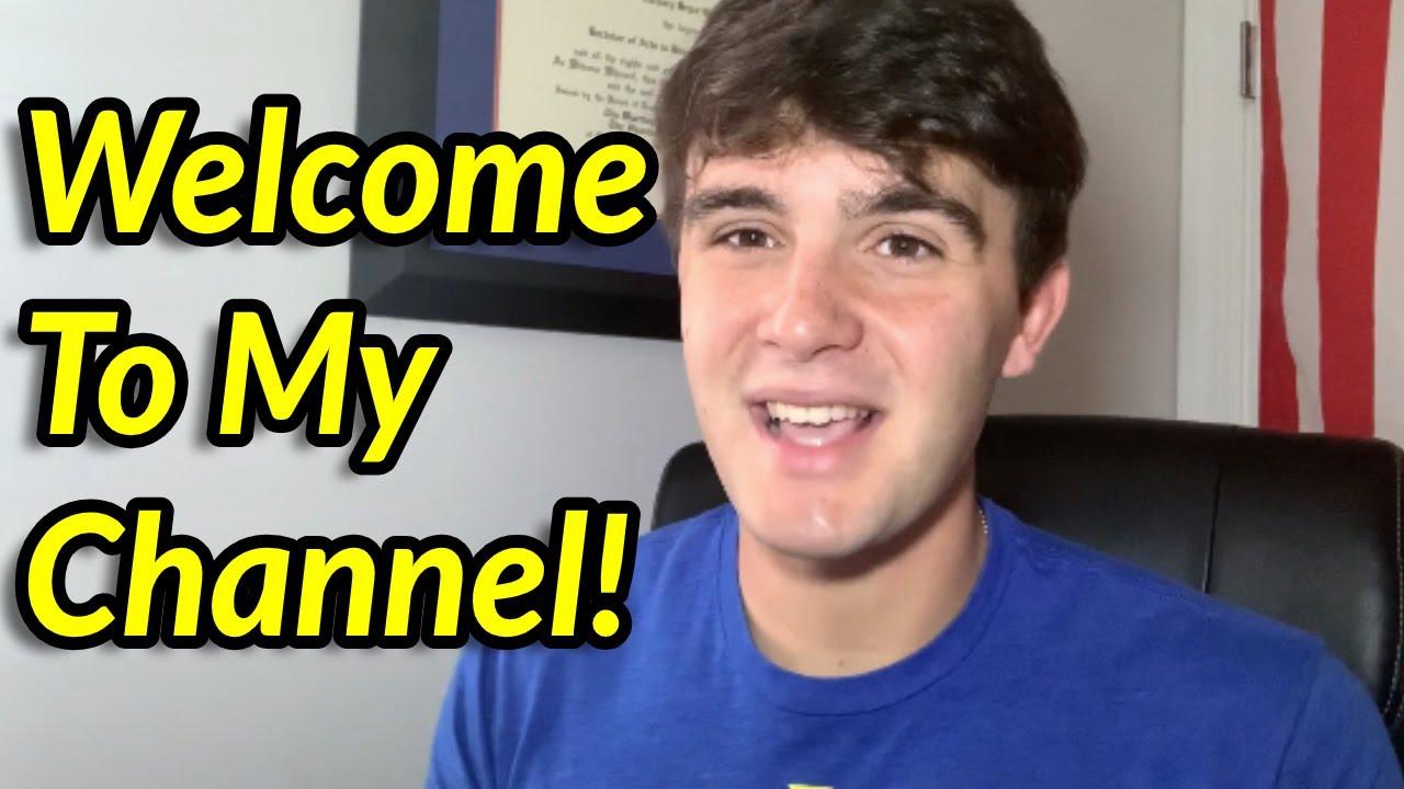 Welcome to My Channel!   Zach Ginn