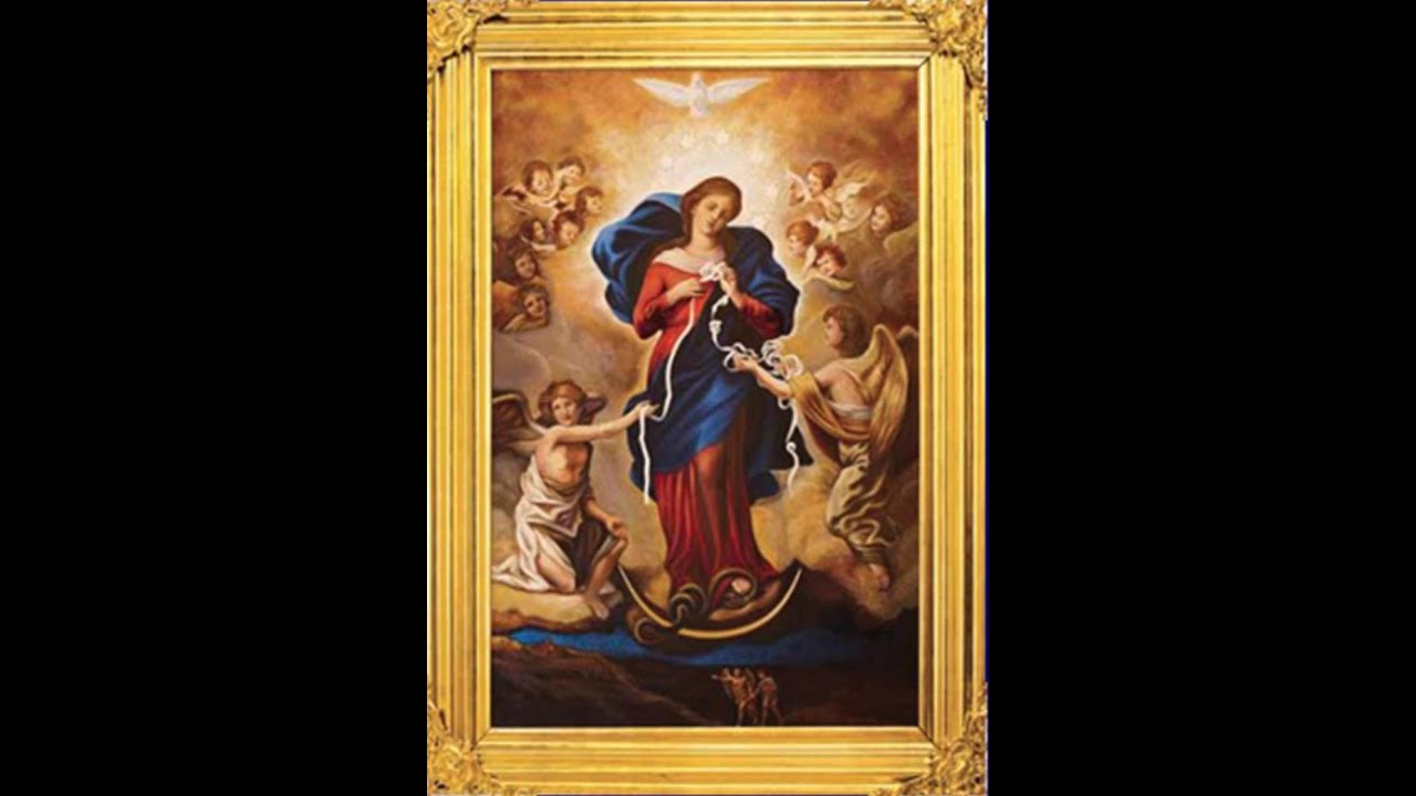 Image result for Our lady, undoer of knots