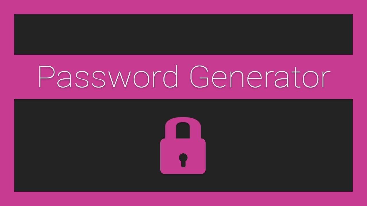 JavaScript Password Generator - Part 2