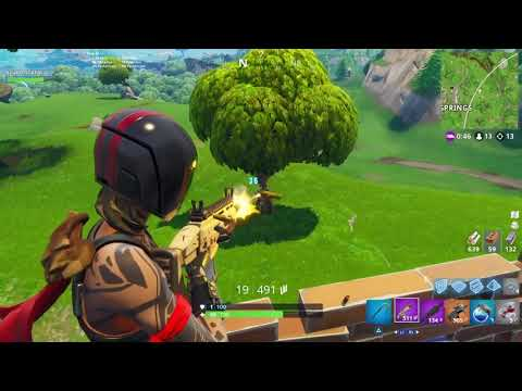 Fortnite 20 kill solo game play ps4