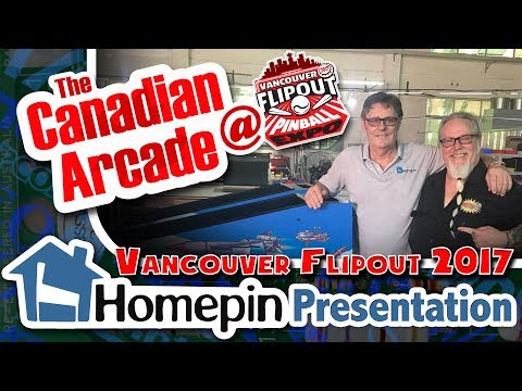 Homepin Thunderbirds Pinball - Mike Kalinowski Speaker Session at Vancouver FlipOut 2017