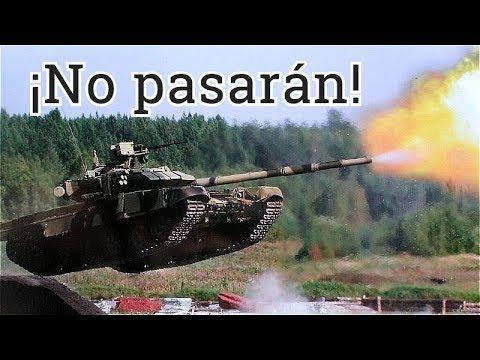 Russia & Belarus Preparing Against Western Invasion: Common Tank Exercise At Mulino Training Ground