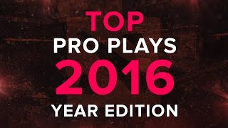 Dota 2 Top Pro Plays 2016 Year Edition