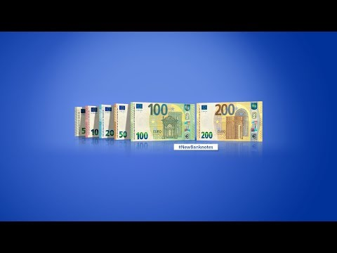 100 and 200 Europa Series Banknotes Unveiling Ceremony