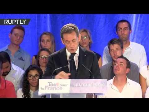 Le premier discours de Nicolas Sarkozy en tant que candidat à la présidentielle  (Direct du 25.08)