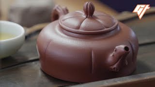 How the Masters Make A Classic Yixing Teapot