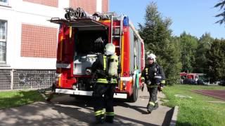 Учебная Эвакуация И Тушение Условного Пожара