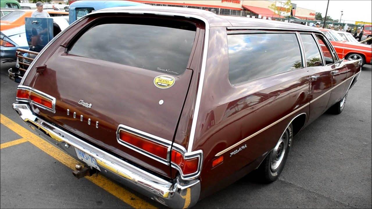 Rare 70 Dodge Polara Custom Station Wagon Youtube
