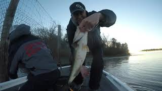 Lake Welsh December 2019 with Eric Wright