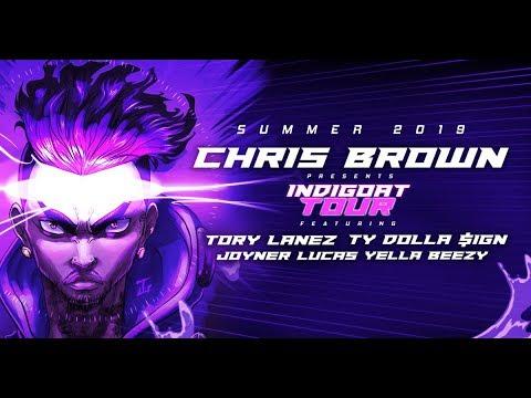 FULL INDIGOAT TOUR 2019: Chris Brown, Tory Lanez, Ty Dolla $ign, Yella Beezy, Joyner Lucas +More!