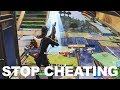 ShotGunPlays tries out for FaZe Clan and gets called out for HACKS in Fortnite..