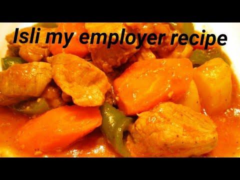 How To Cook Isli # Afritada
