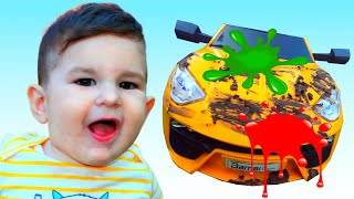 Car Wash Song   Nursery Rhymes & Kids Songs by Kirill and Pasha