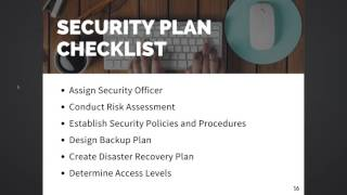 9. How to Prepare for a HIPAA Audit: Security Plan Checklist