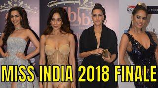 Manushi Chhillar, Malaika Arora, Neha Dhupia, Poonam Pandey | Miss India 2018 Grand Finale