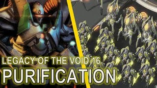 Starcraft II: Legacy of the Void Mission 16 - Purification [ALL ACHIEVEMENTS!]