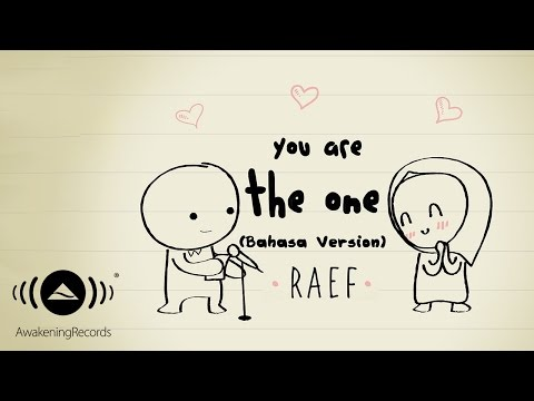 Download Raef – You Are The One (Bahasa Version) Mp3 (5.07 MB)