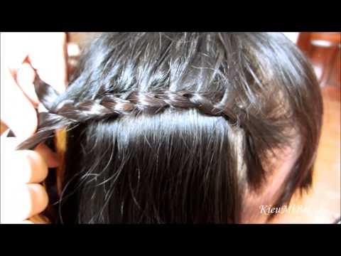 Tểt tóc đơn giản mà dễ thương