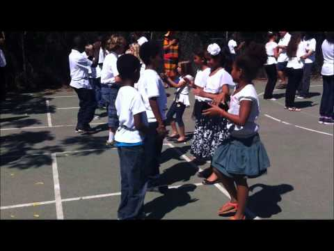 Quadrille Dancing to Quelbe Music at AZ Academy