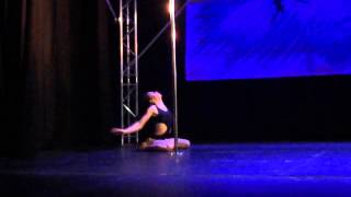 Rebecca Plume - Expert Category - Emmas Pole Dancing Competition 2013