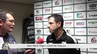 ITW Ragon Jean-René après la victoire face à Niort (33-28)