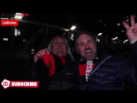 Arsenal 1-2 Östersunds | It Was A Once In A Lifetime Experience!! (Away Fans)