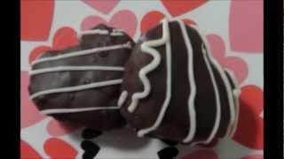 Chocolate Covered Brownie Bites