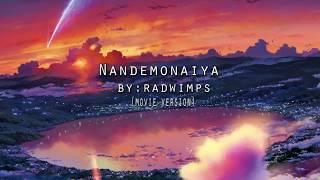 Gambar cover Nandemonaiya Movie Version (Original Song)