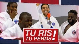 🆒📺🤣 𝙏𝙪 𝙧𝙞𝙨, 𝙩𝙪 𝙥𝙚𝙧𝙙𝙨 - PSG Judo 🥋 avec Teddy Riner, Aziz Aboudrar ...