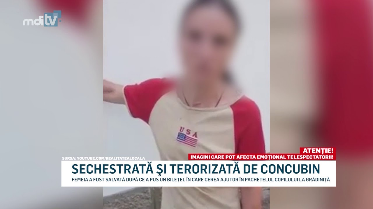 SECHESTRATA SI TERORIZATA DE CONCUBIN   YOUTUBE