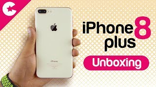 Apple iPhone 8 Plus (Gold) - Unboxing & First Impression!!