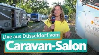 Live von der Caravan-Messe am 30.8.2019 in Düsseldorf | WDR Reisen