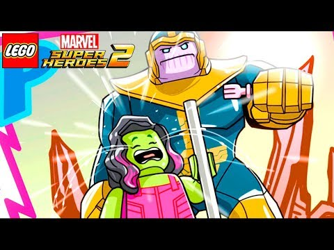 FESTA DE ANIVERSÁRIO PARA A GAMORA FASE BÔNUS GWENPOOL no LEGO Marvel Super Heroes 2 EXTRAS #55