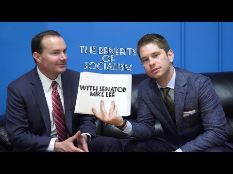 Senator Mike Lee on the Benefits of Socialism: Western Conservative Summit 2014